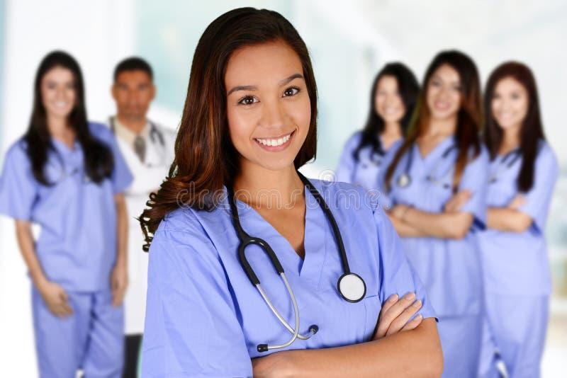 Enfermeira no hospital foto de stock