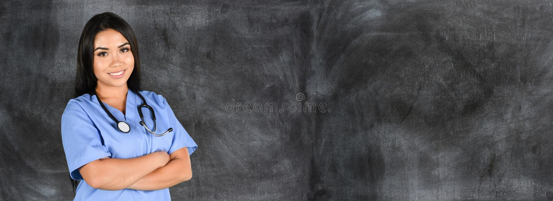 Enfermeira no hospital fotos de stock