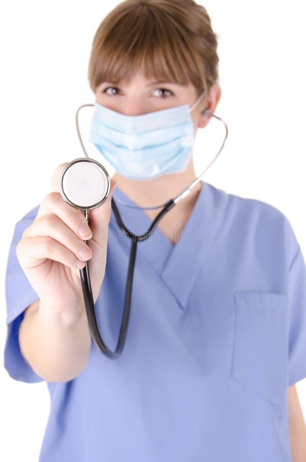 Enfermera 6 fotografía de archivo