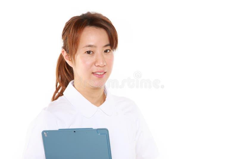 Enfermera del japonés imagen de archivo