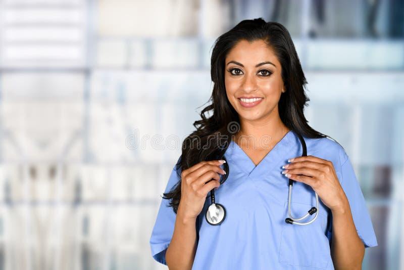 Enfermera en hospital imágenes de archivo libres de regalías