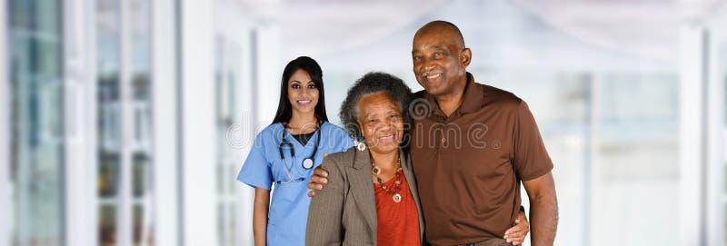 Enfermera en hospital fotos de archivo