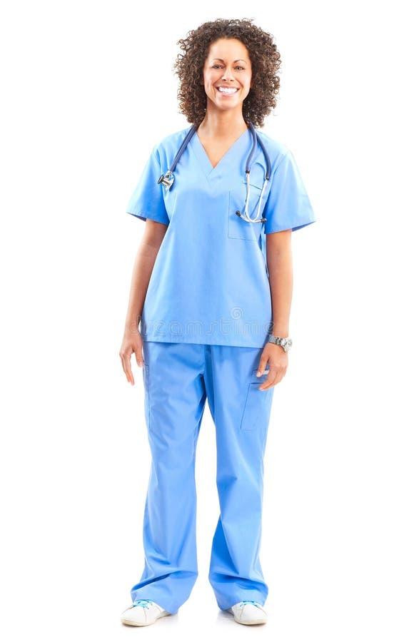 Enfermera médica sonriente foto de archivo libre de regalías
