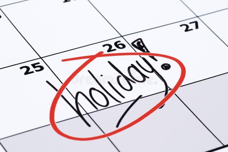 Enfin vacances illustration stock