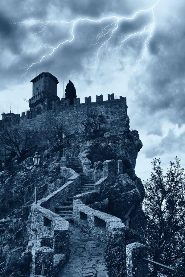 Eng kasteel stock afbeeldingen
