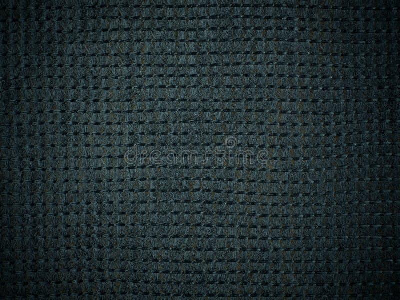 Eng-Schwarz-Hessian-Makro-Textur-Hintergrund lizenzfreie stockbilder