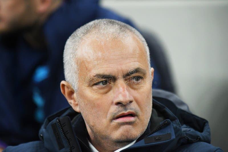 Jose Mourinho Manager of Tottenham Hotspur royalty free stock photos