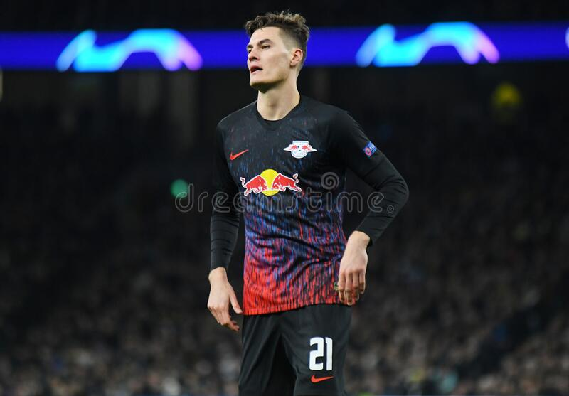 Patrick Schick of RB Leipzig stock images