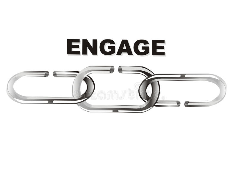 Download Engage chain stock image. Image of protect, protected - 13176433