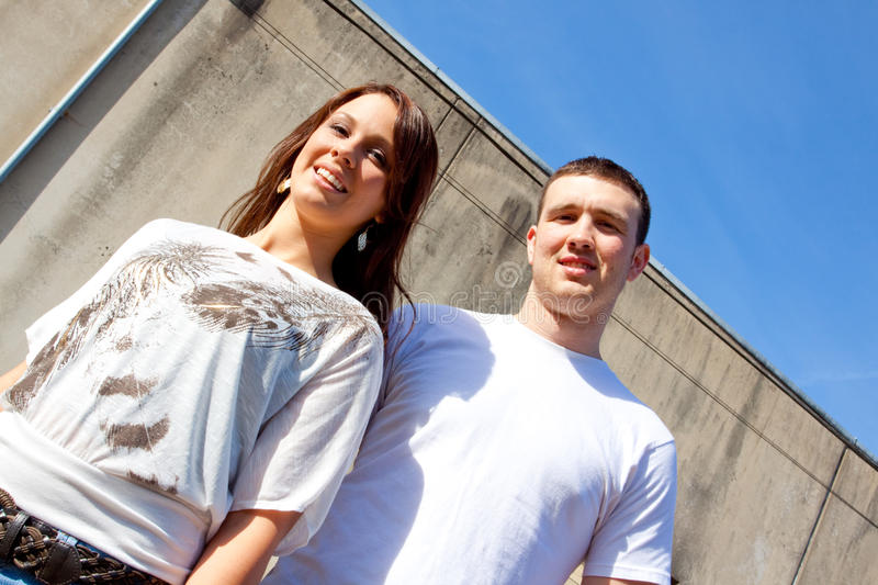 Download Engaged Couple stock photo. Image of couple, caucasian - 16301006