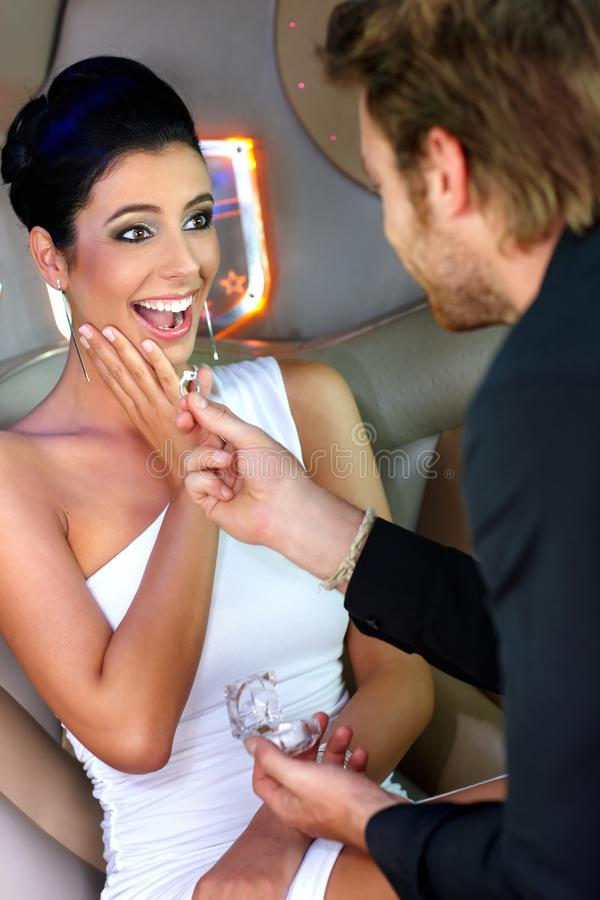 Download Engagement stock photo. Image of hair, limousine, boyfriend - 22953706