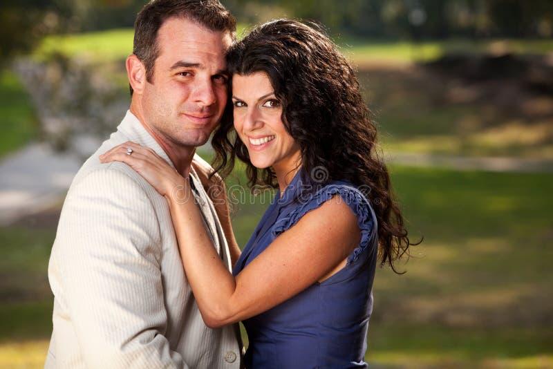 Engagement Portrait stock photos