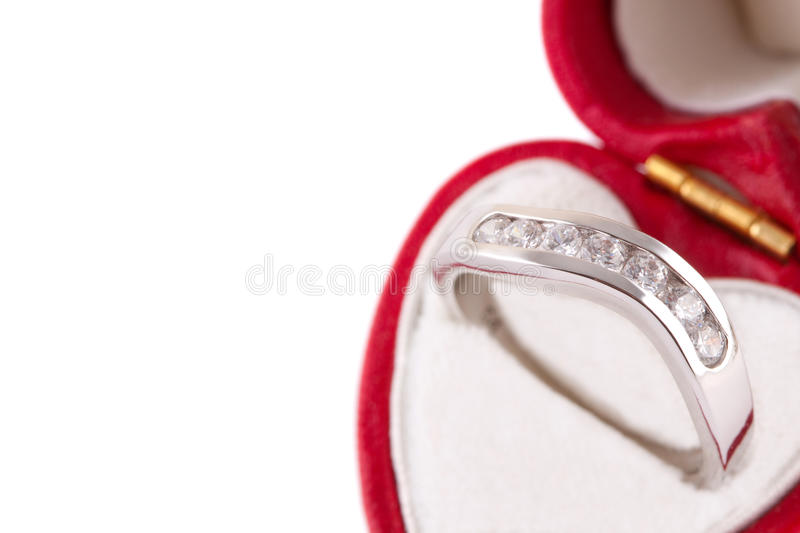 Download Engagement ring stock image. Image of heart, macro, gift - 12847387