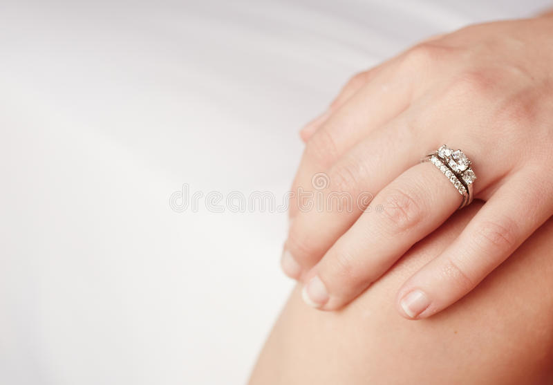 Download Engagement ring stock photo. Image of white, fingers - 29604642
