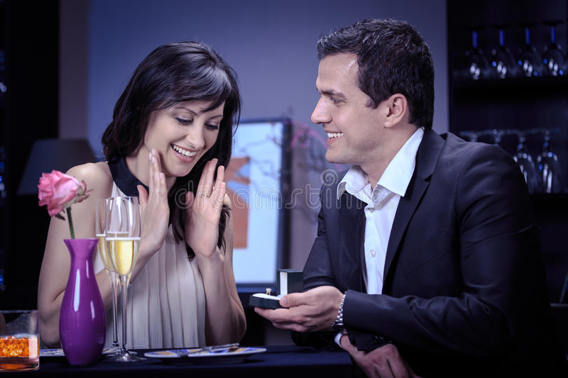 Download Engagement ring stock photo. Image of love, people, table - 31999246