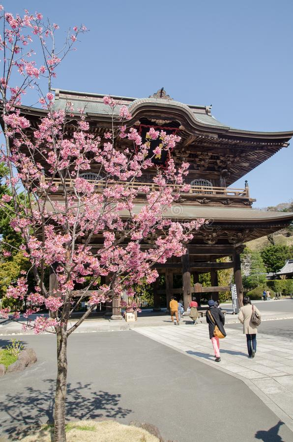 Engaku-ji Temple -is one of the most important Zen Buddhist temple stock images