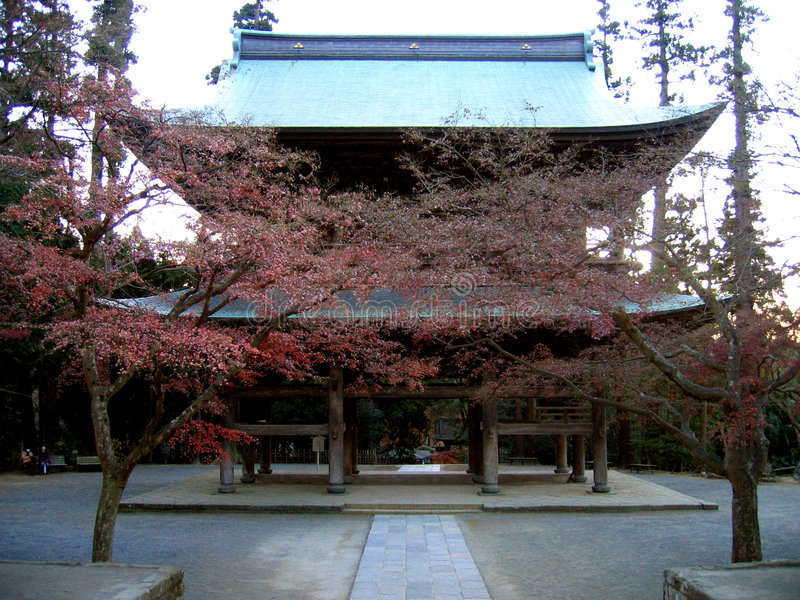 engakuji sanktuarium Kamakura Japan zdjęcie stock
