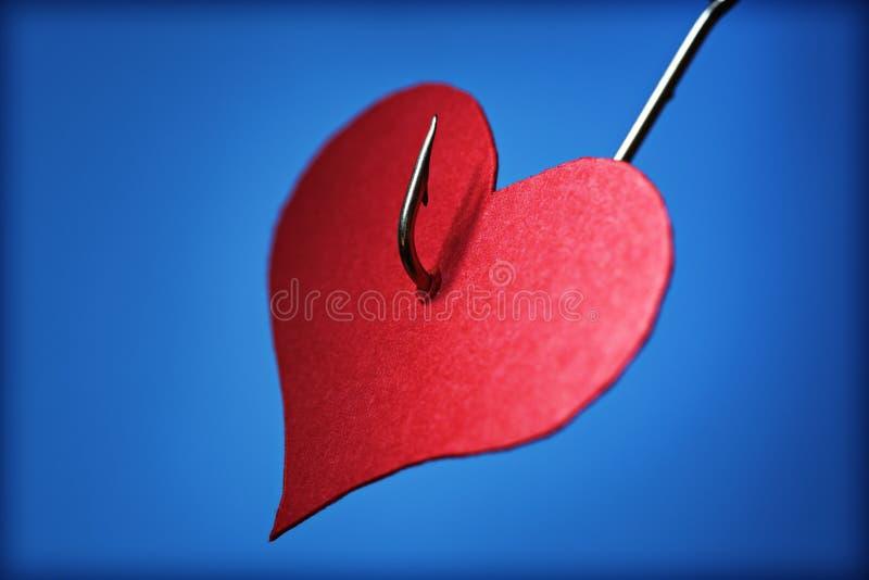 Enganchado en amor fotografía de archivo libre de regalías