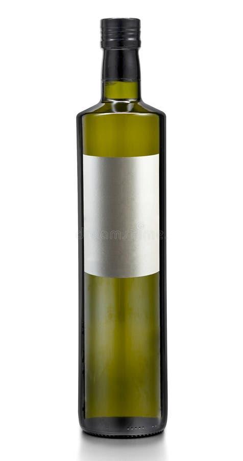 Engarrafe o óleo da azeitona ou milho ou porca ou girassol puro imagens de stock