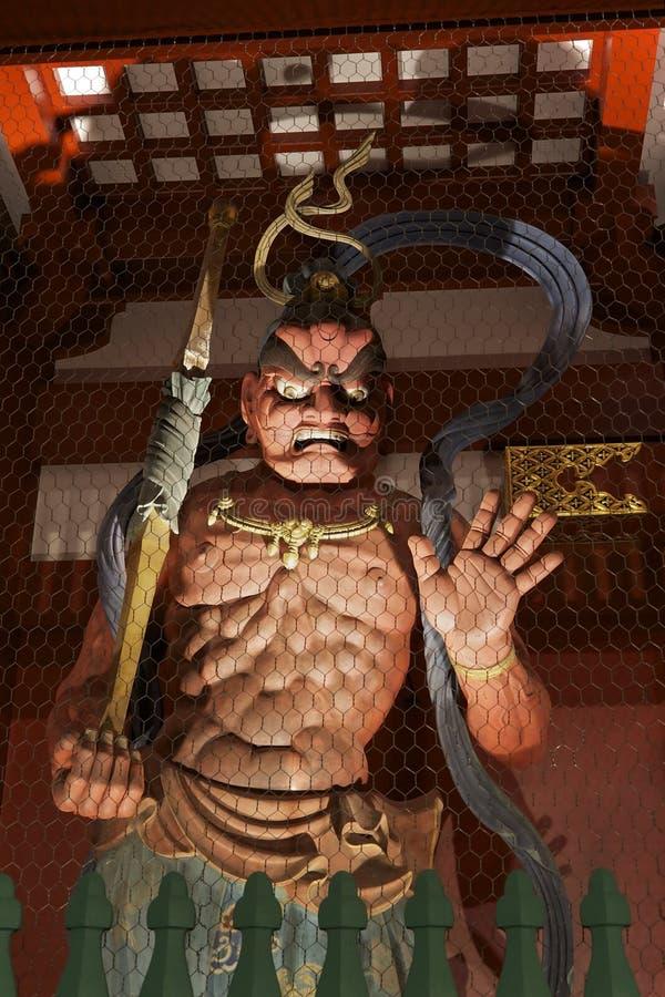 Enge beschermer bij Senso -senso-ji tempel, Tokyo royalty-vrije stock afbeelding