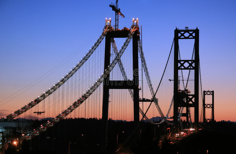 Enge-Brücke stockbilder