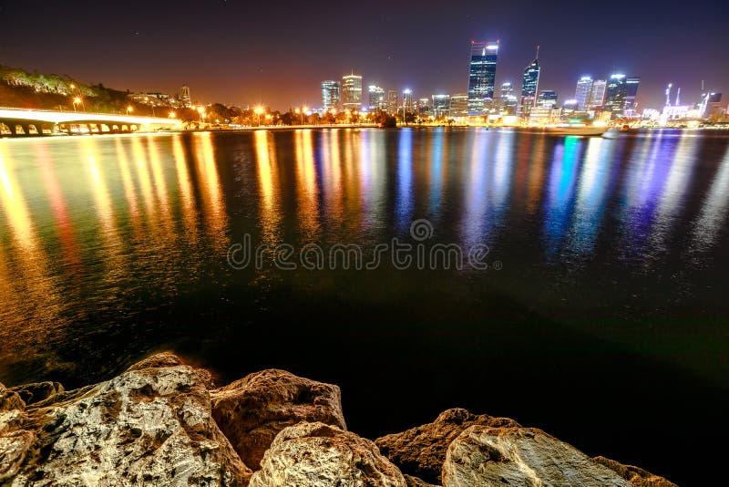 Enge-Brücke Perth lizenzfreies stockbild