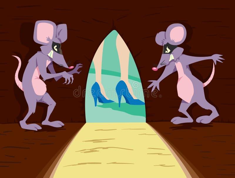 Enge muizen vector illustratie