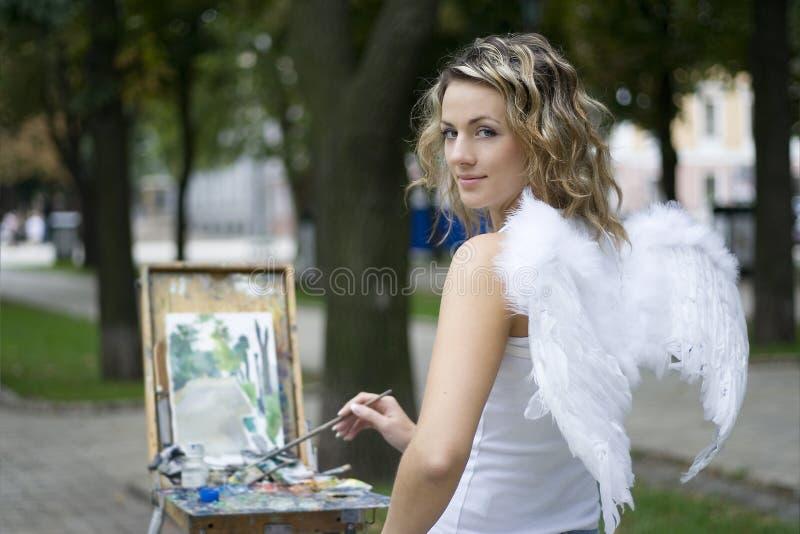 Engel stock afbeeldingen