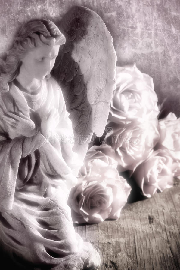 Engel stock afbeelding