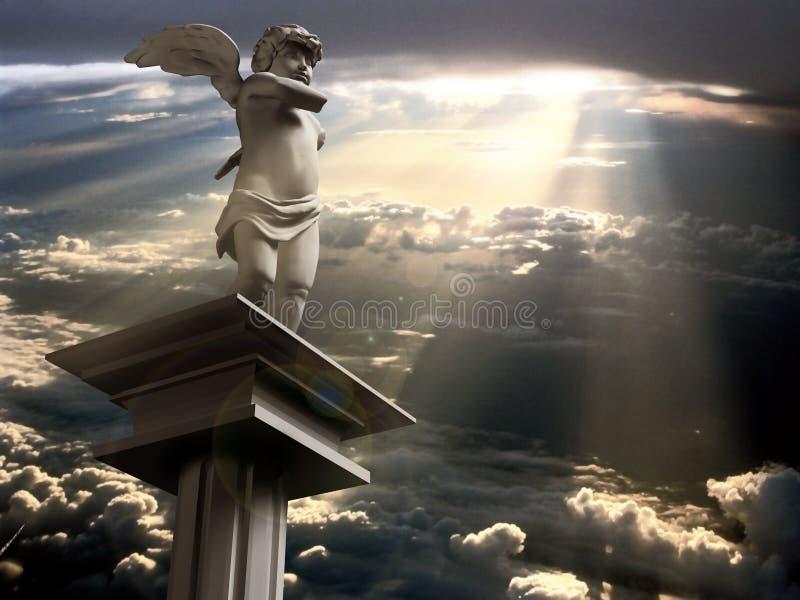 Engel de l'amour images stock