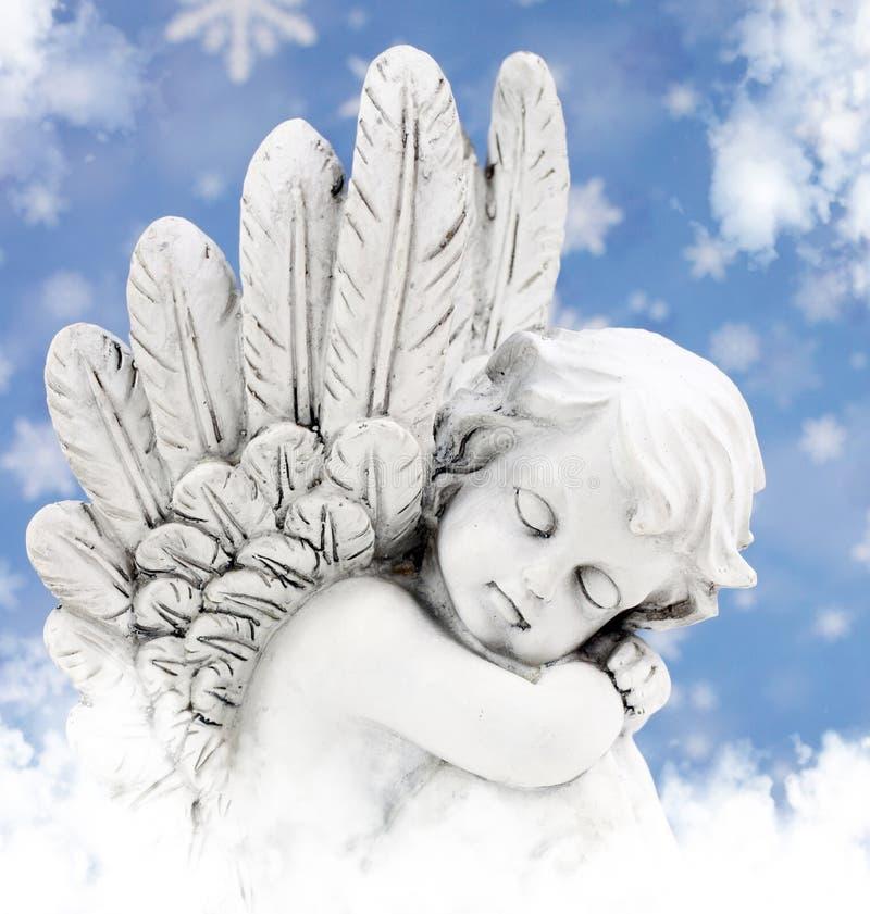 Engel in de zon royalty-vrije stock afbeeldingen
