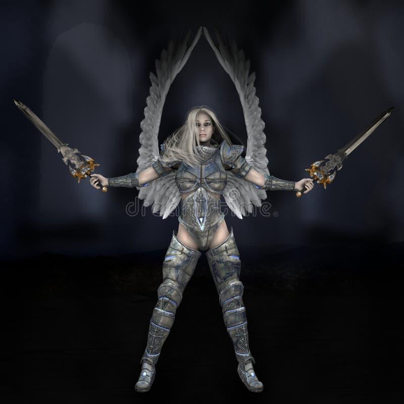 Engel der Leuchte lizenzfreie abbildung