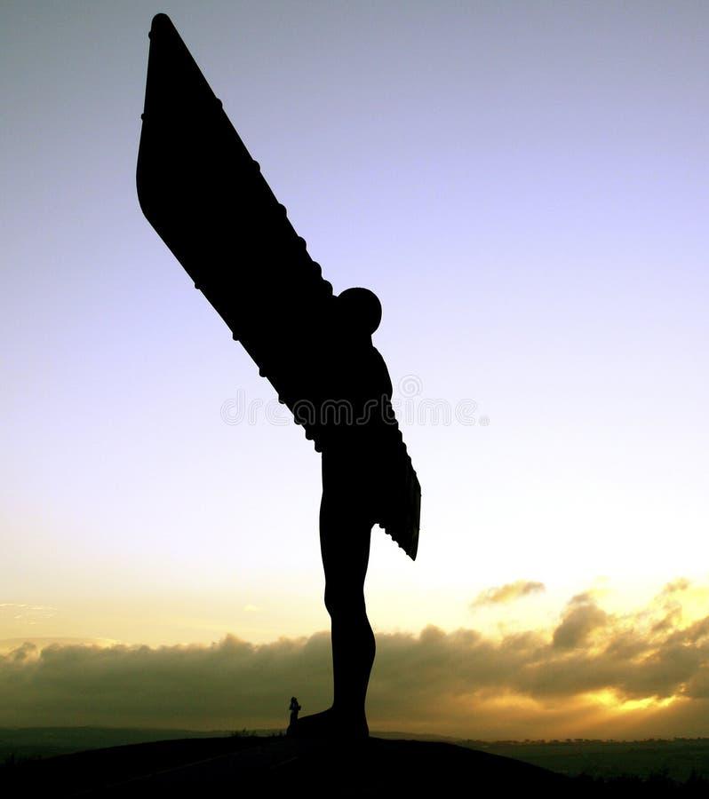 Engel des Nordens stockfotografie
