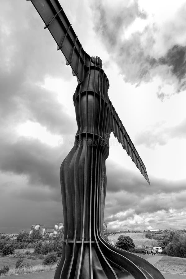 Engel des Nordens stockfoto