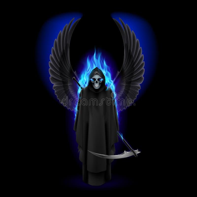 Engel des Todes lizenzfreie abbildung
