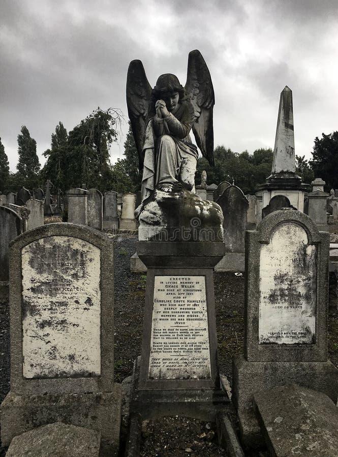 Engel in Dublin lizenzfreies stockbild