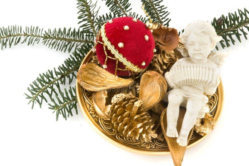 Engel für Weihnachten stockfoto