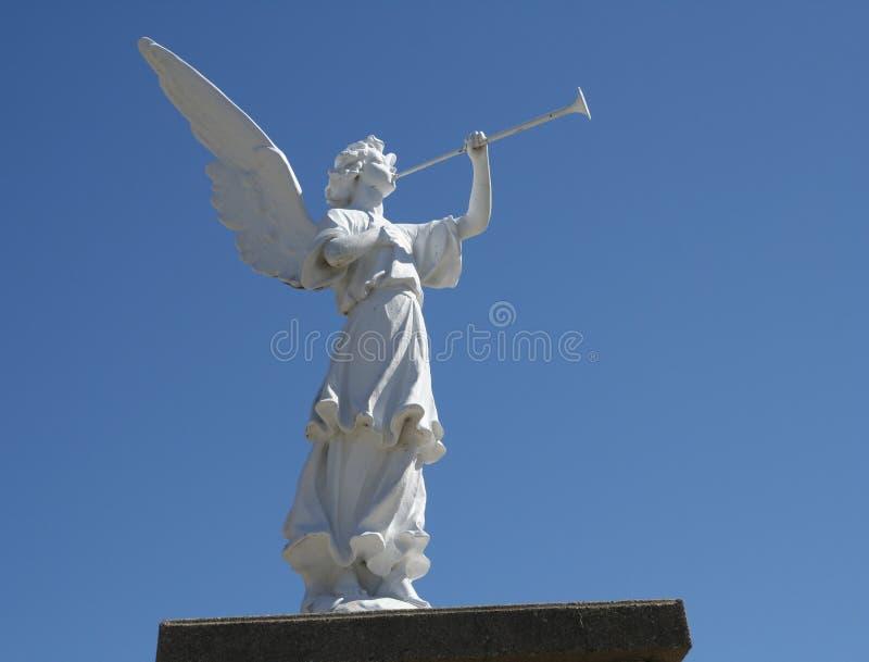 Engel im Sonnenlicht lizenzfreie stockbilder