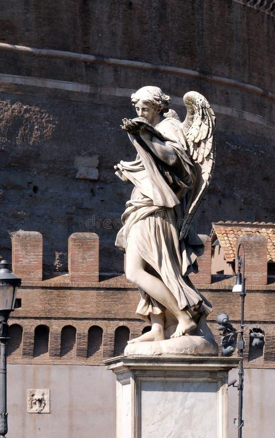Engel mit dem Sudarium stockfotografie