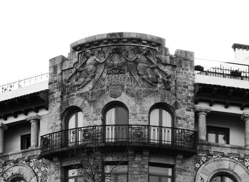 Engel mit Trompeten auf die Oberseite stockfoto