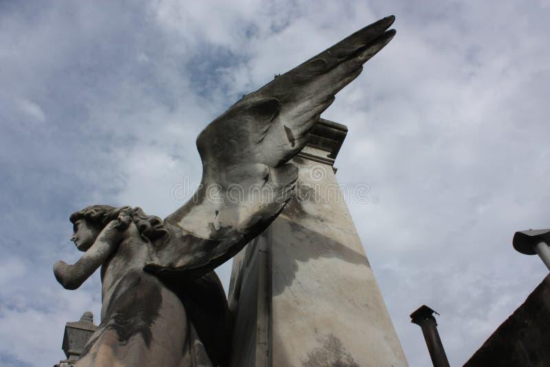 Engel ohne Hand lizenzfreies stockbild