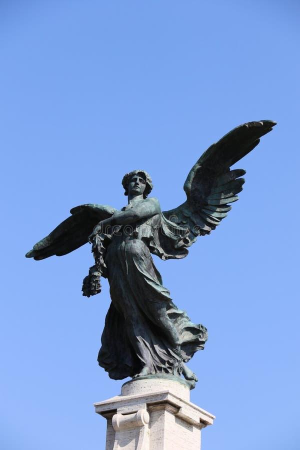 Engel in Rome royalty-vrije stock afbeeldingen