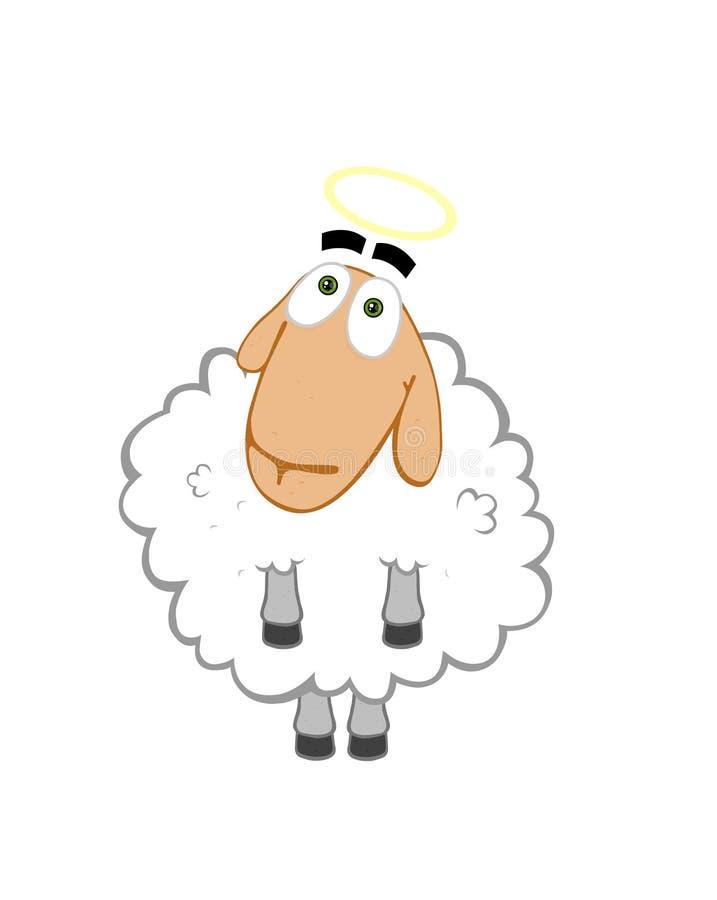 Engel-schapen vector illustratie
