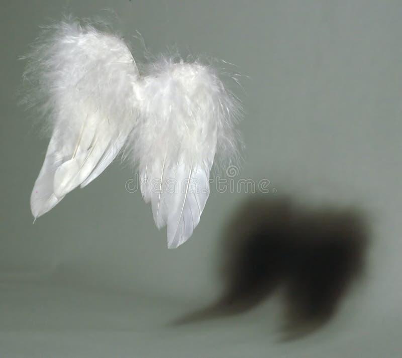 Engel und Dämon lizenzfreie stockfotografie
