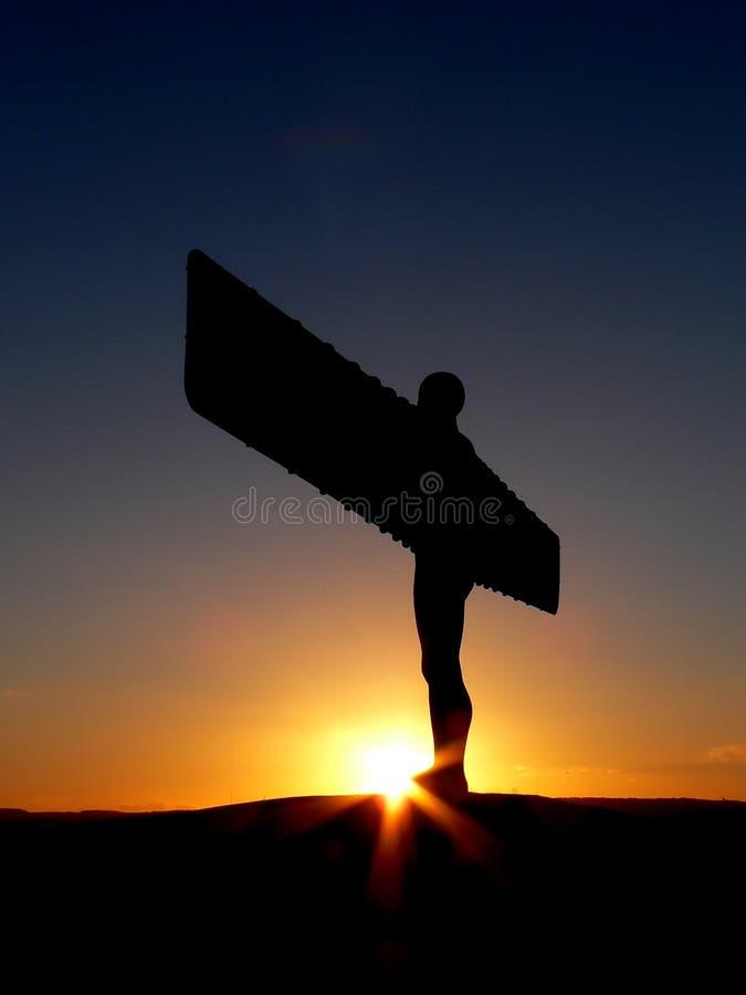 Engel van het Noorden stock fotografie