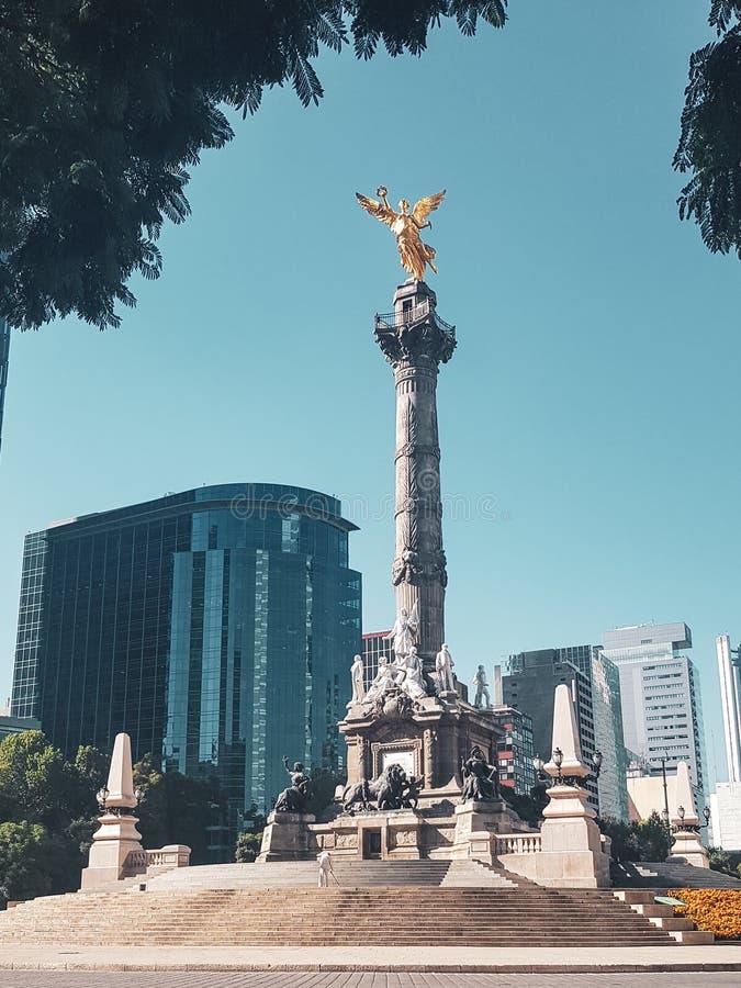 Engel van Onafhankelijkheid, Mexico-City, Mexico royalty-vrije stock foto