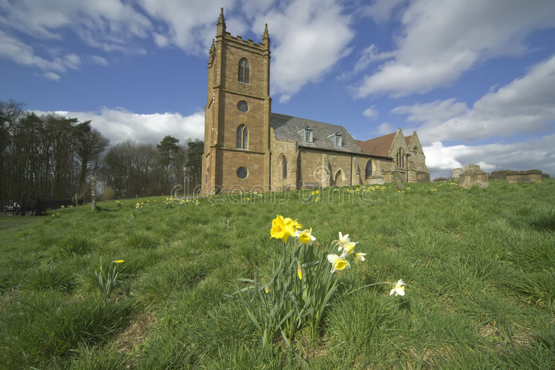 Engeland de Midlands Worcestershire stock afbeeldingen