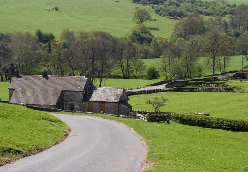 Engeland Derbyshire royalty-vrije stock afbeelding