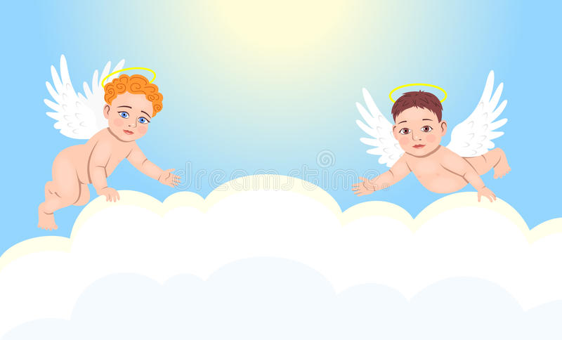 Engelen vector illustratie