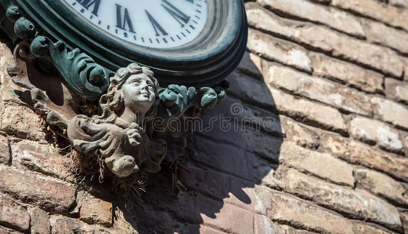 Engelengezicht Venetië royalty-vrije stock afbeelding